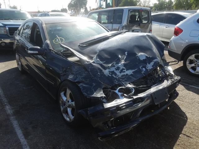 Mercedes-Benz salvage cars for sale: 2005 Mercedes-Benz C 230K Sport