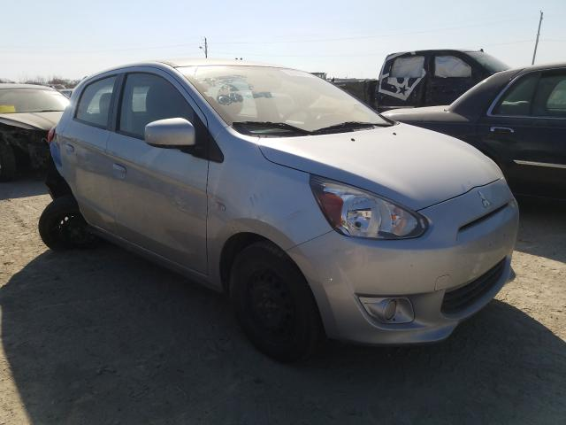 Salvage cars for sale from Copart Indianapolis, IN: 2015 Mitsubishi Mirage DE