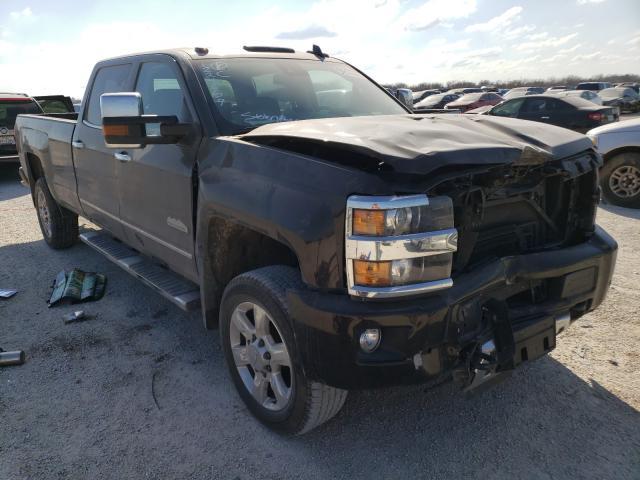 Salvage cars for sale from Copart San Antonio, TX: 2018 Chevrolet Silverado