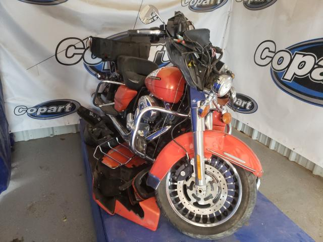 Salvage cars for sale from Copart Amarillo, TX: 2012 Harley-Davidson Flhtk Elec