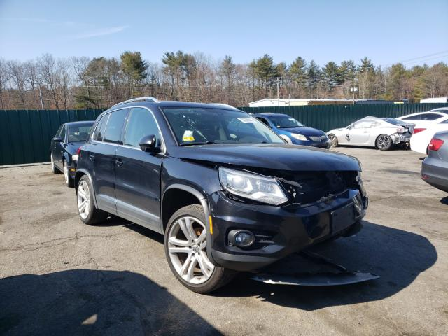 Salvage cars for sale from Copart Exeter, RI: 2013 Volkswagen Tiguan S