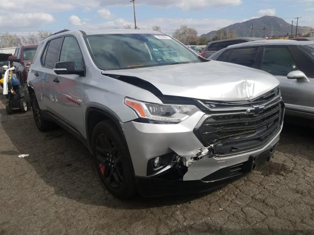 Salvage cars for sale from Copart Colton, CA: 2020 Chevrolet Traverse P
