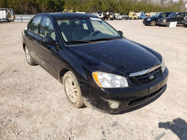 KIA Spectra salvage cars for sale: 2005 KIA Spectra
