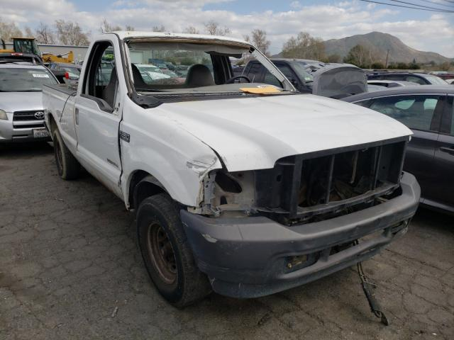 Salvage cars for sale from Copart Colton, CA: 2004 Ford F250 Super