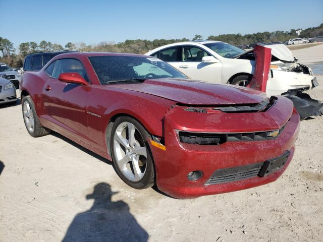 Chevrolet Camaro LT salvage cars for sale: 2015 Chevrolet Camaro LT