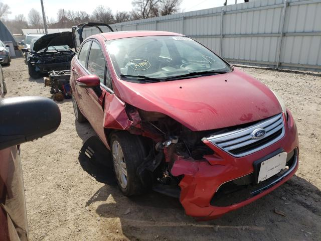 Salvage cars for sale from Copart Wichita, KS: 2012 Ford Fiesta SEL