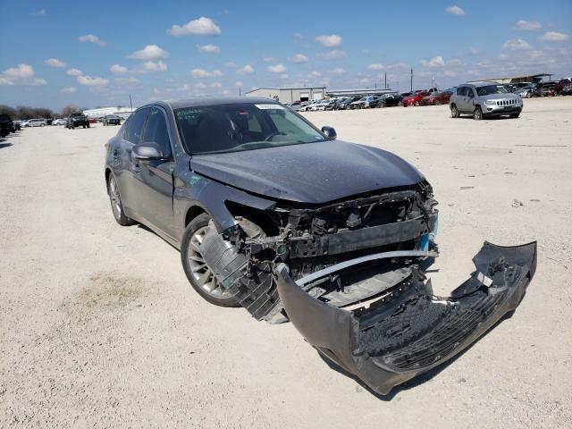 Salvage cars for sale from Copart San Antonio, TX: 2018 Infiniti Q50 Luxe