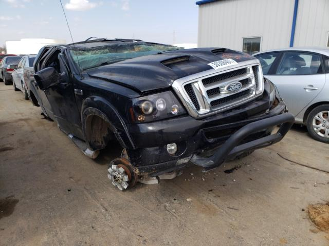 Salvage cars for sale from Copart Tulsa, OK: 2008 Ford F150 Super