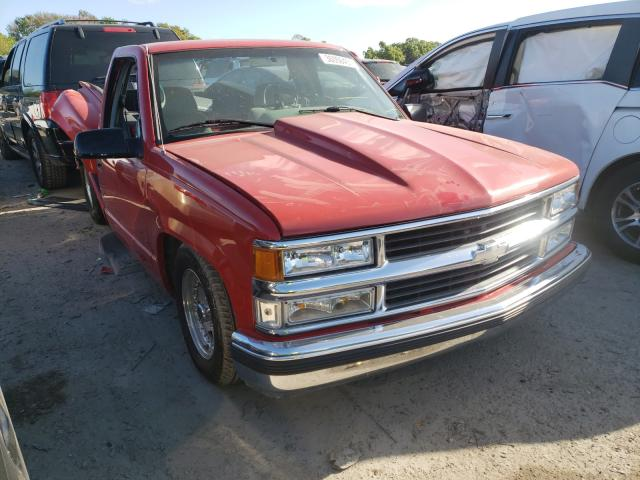 Salvage cars for sale from Copart Riverview, FL: 1996 Chevrolet GMT-400 C1