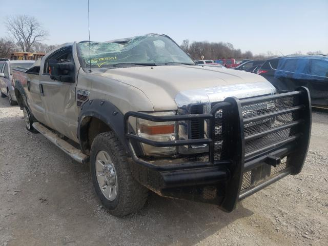 Salvage cars for sale from Copart Des Moines, IA: 2008 Ford F250 Super