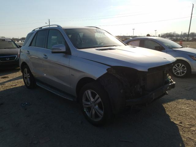 Salvage cars for sale from Copart Indianapolis, IN: 2012 Mercedes-Benz ML 350 4matic