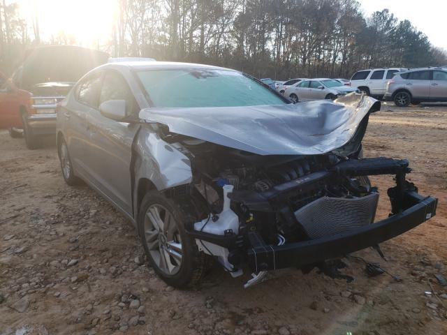 Salvage cars for sale from Copart Austell, GA: 2020 Hyundai Elantra SE