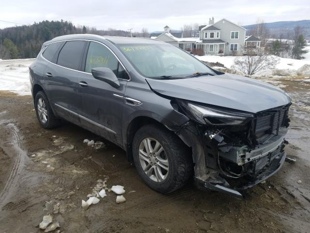 Salvage cars for sale at West Warren, MA auction: 2018 Buick Enclave ES