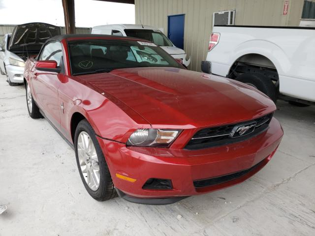 Salvage cars for sale from Copart Homestead, FL: 2012 Ford Mustang
