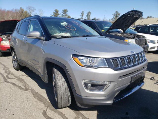 Salvage cars for sale from Copart Exeter, RI: 2020 Jeep Compass LI