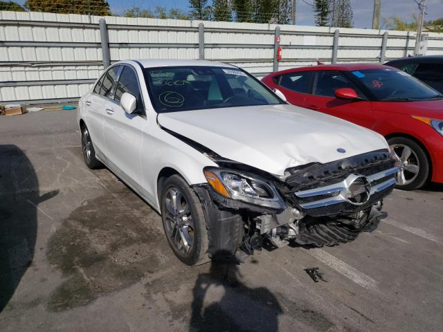Mercedes-Benz salvage cars for sale: 2016 Mercedes-Benz C300