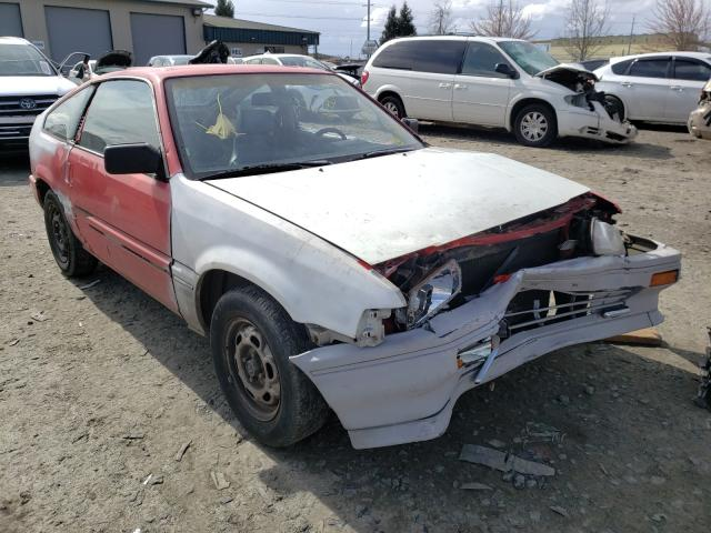 Salvage cars for sale from Copart Eugene, OR: 1986 Honda Civic