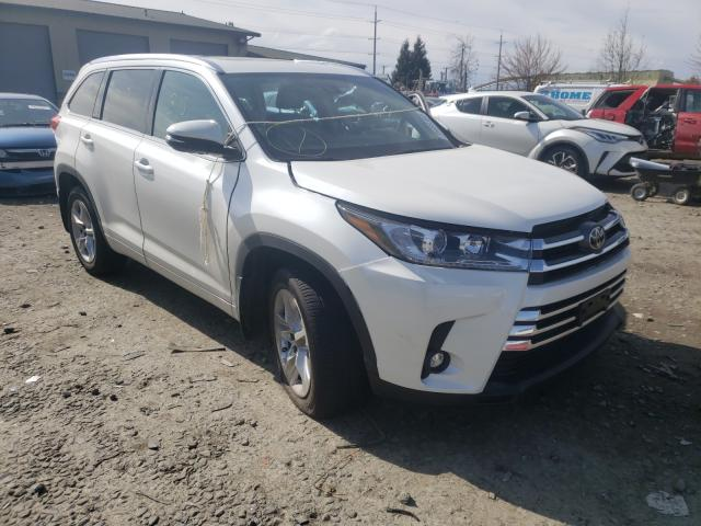 Salvage cars for sale from Copart Eugene, OR: 2019 Toyota Highlander