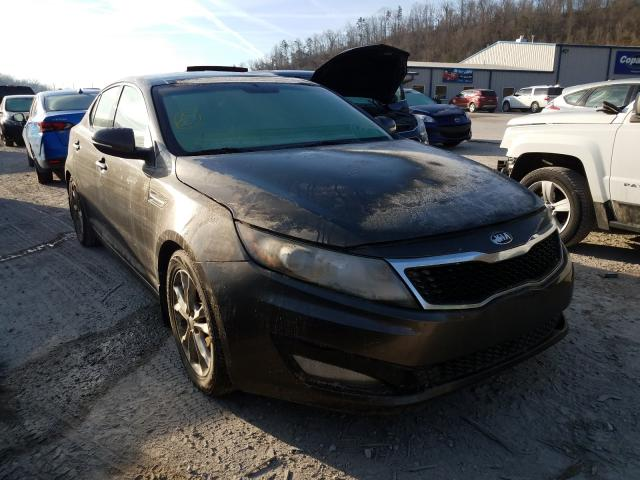 Salvage cars for sale from Copart Hurricane, WV: 2013 KIA Optima EX