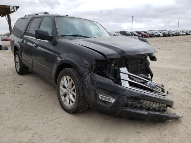 Salvage cars for sale from Copart Temple, TX: 2017 Ford Expedition