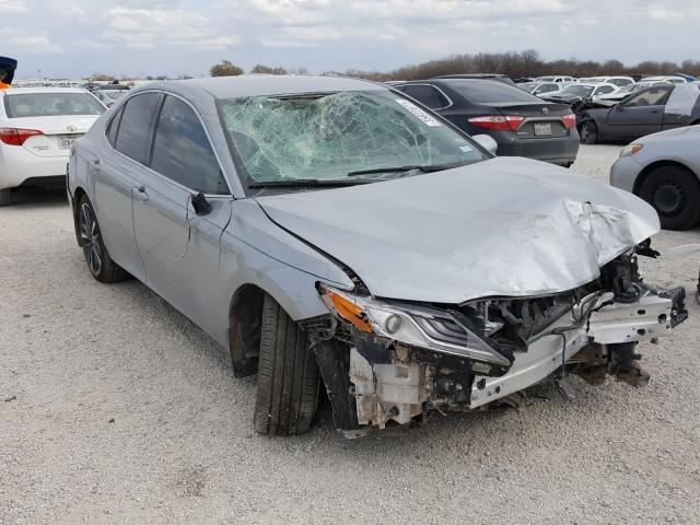 Salvage cars for sale from Copart San Antonio, TX: 2020 Toyota Camry XSE