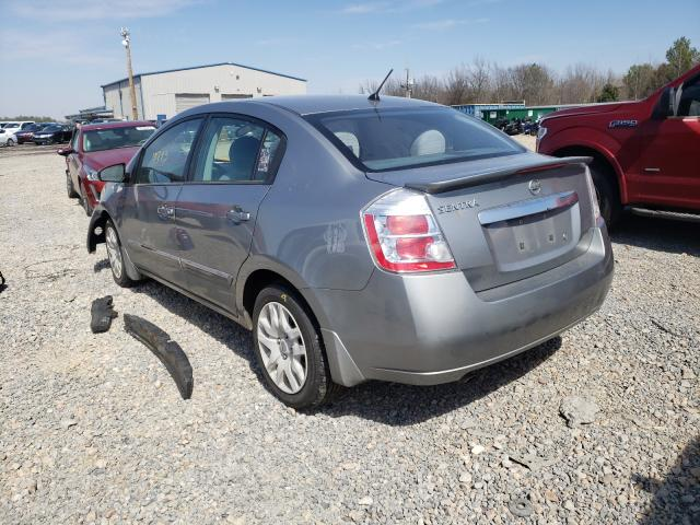 2012 NISSAN SENTRA 2.0 - Right Front View