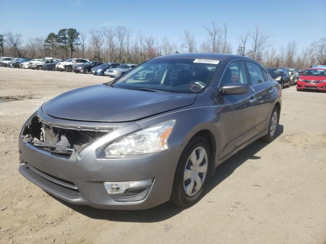 2015 NISSAN ALTIMA 2.5 - Left Front View