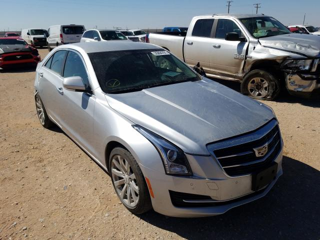 Salvage cars for sale from Copart Andrews, TX: 2017 Cadillac ATS Luxury