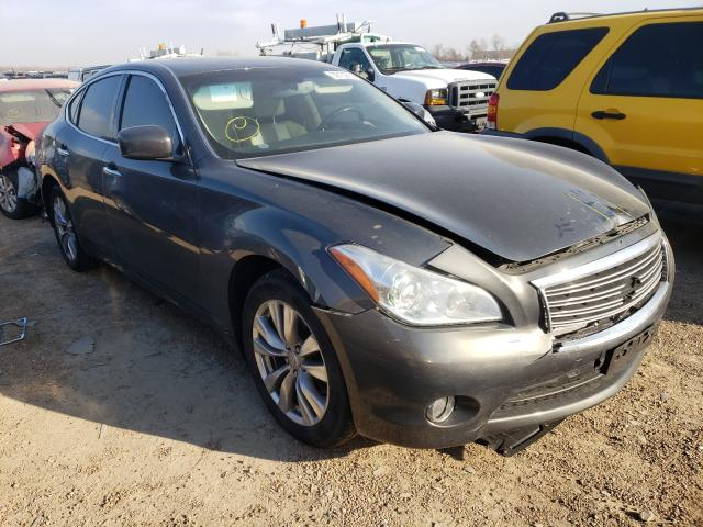 Infiniti M37 X salvage cars for sale: 2012 Infiniti M37 X
