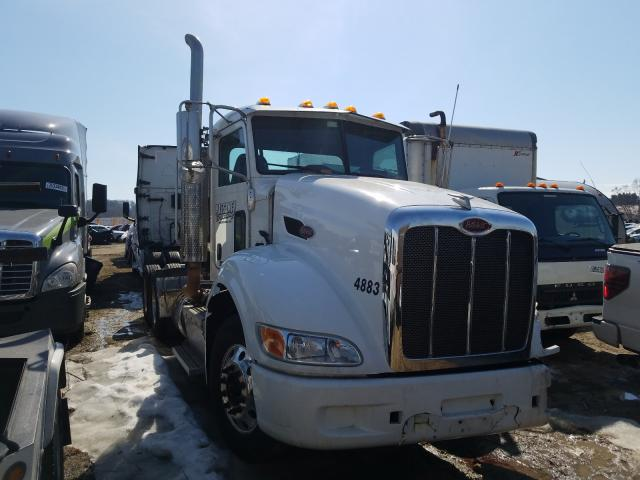 Salvage cars for sale from Copart Madison, WI: 2013 Peterbilt Tractor