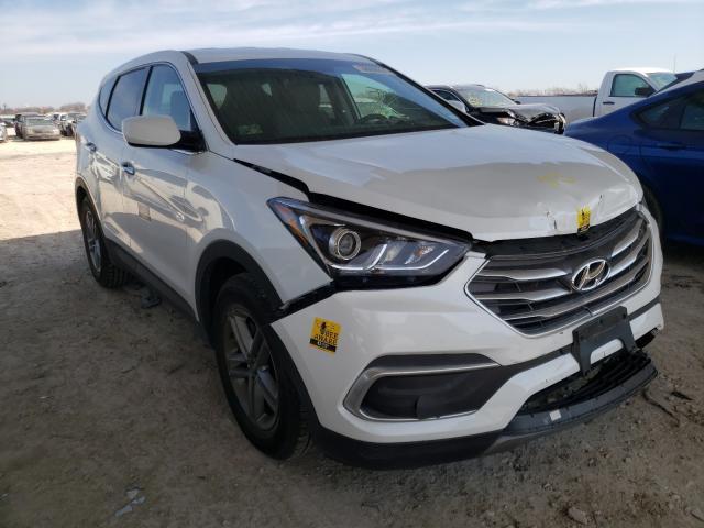 2018 HYUNDAI SANTA FE S 5XYZT3LB4JG551105