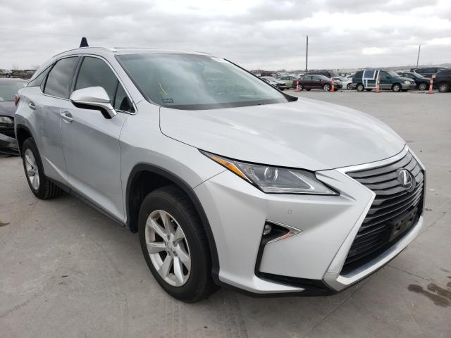 Salvage cars for sale from Copart Grand Prairie, TX: 2016 Lexus RX 350 Base