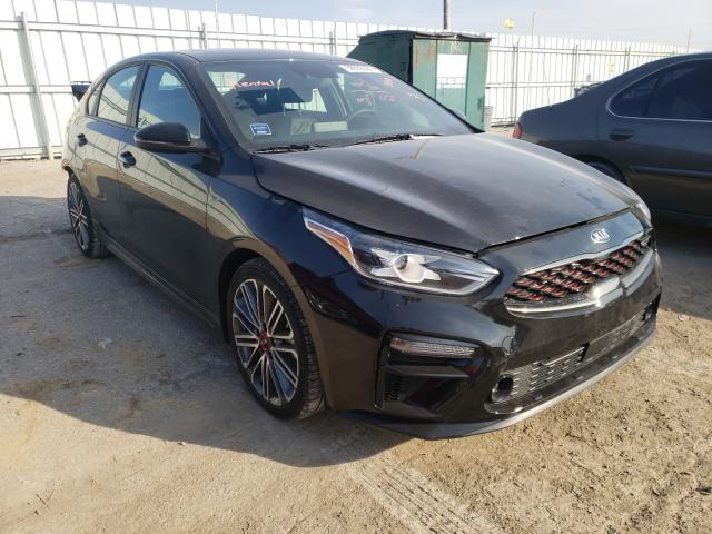 Salvage cars for sale from Copart Lexington, KY: 2021 KIA Forte GT
