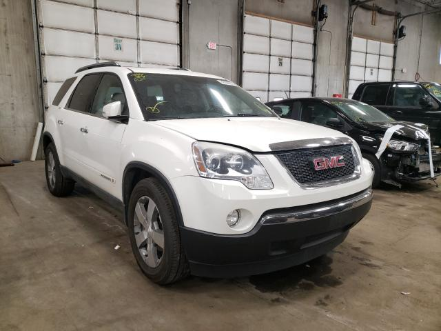 Salvage cars for sale from Copart Blaine, MN: 2008 GMC Acadia SLT