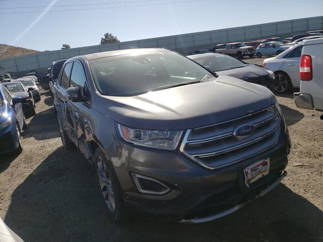 Salvage cars for sale from Copart Albuquerque, NM: 2016 Ford Edge Titanium