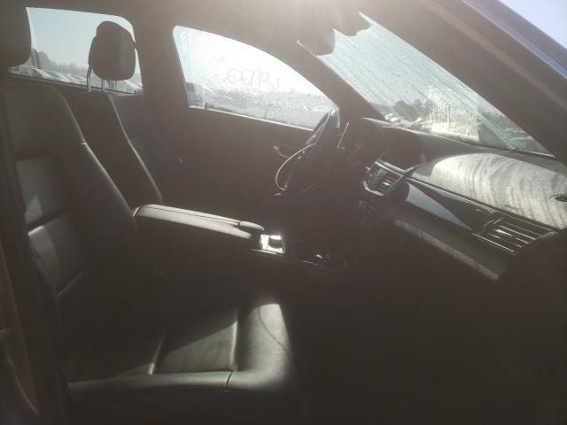 2010 MERCEDES-BENZ E 350 4MAT - Left Rear View