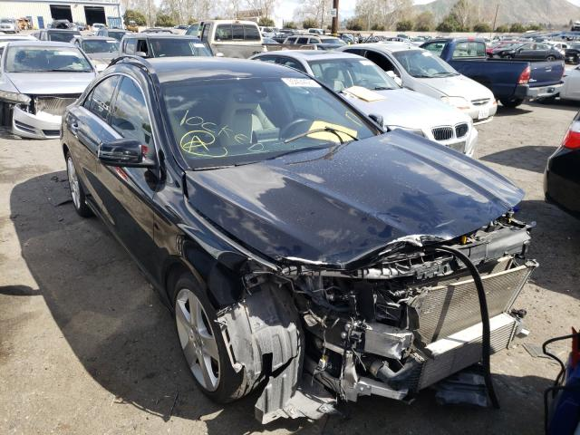 Salvage cars for sale from Copart Colton, CA: 2015 Mercedes-Benz CLA 250