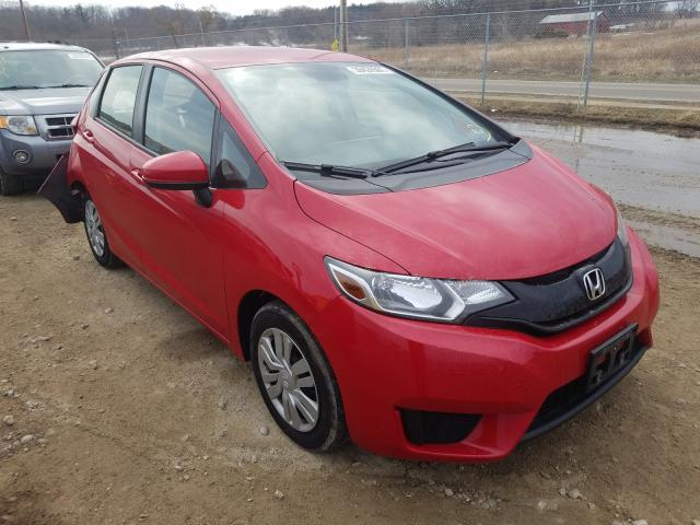 Salvage cars for sale from Copart Madison, WI: 2016 Honda FIT LX