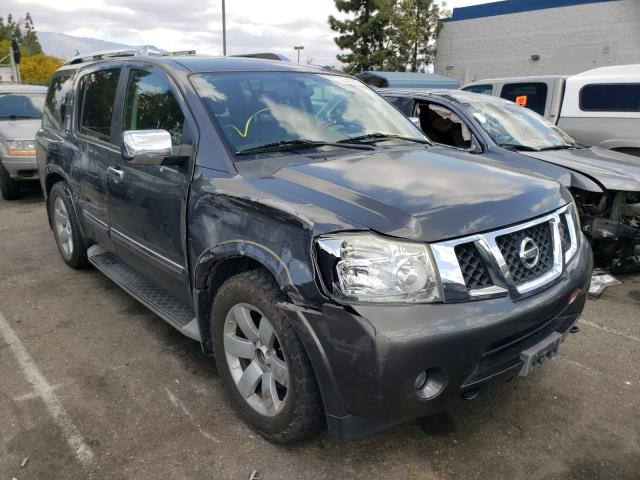 Salvage cars for sale from Copart Rancho Cucamonga, CA: 2010 Nissan Armada SE