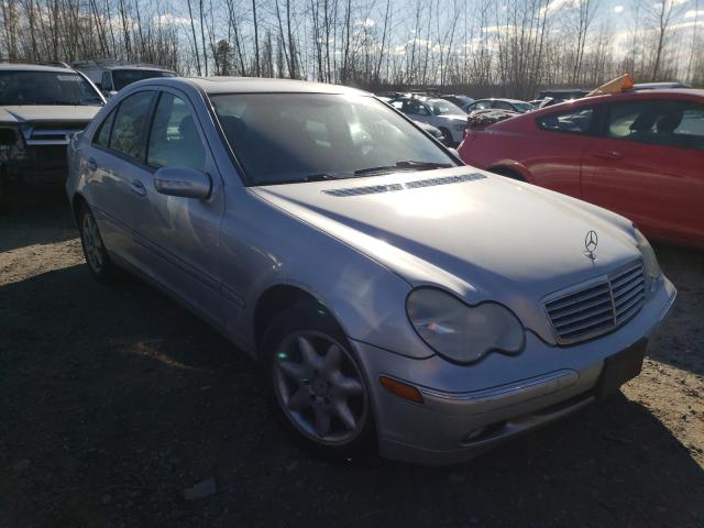 Salvage cars for sale from Copart Arlington, WA: 2003 Mercedes-Benz C 320