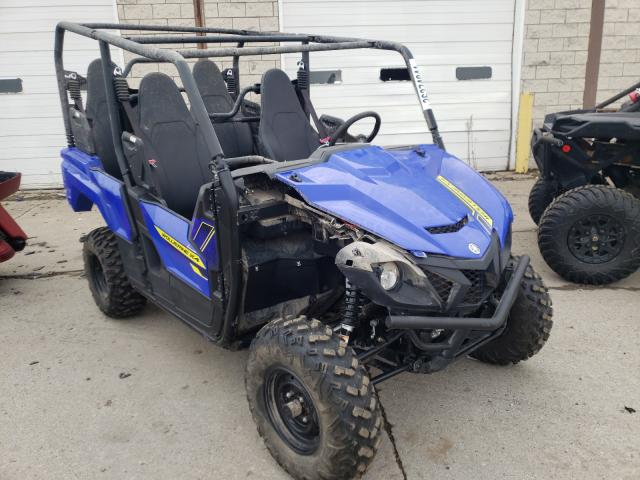 Salvage motorcycles for sale at Woodhaven, MI auction: 2020 Yamaha YXF850