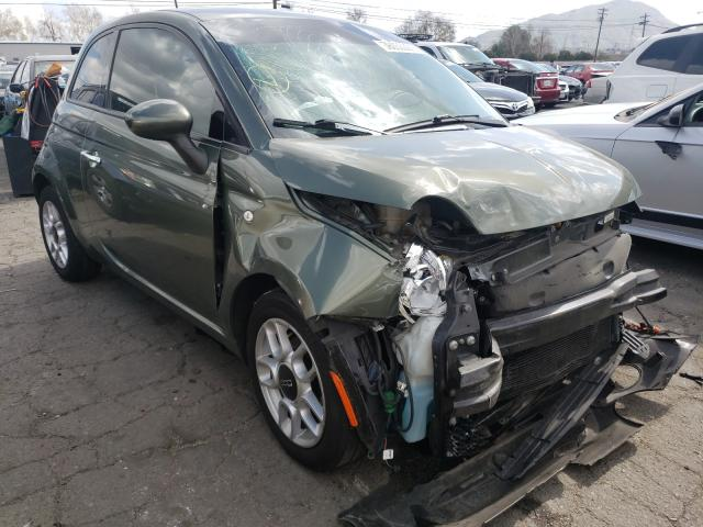 Salvage cars for sale from Copart Colton, CA: 2015 Fiat 500 POP