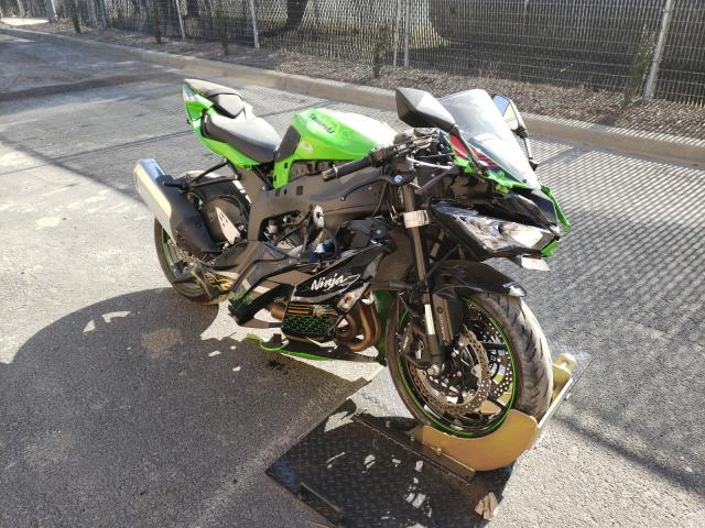 Salvage cars for sale from Copart Waldorf, MD: 2020 Kawasaki ZX636 K