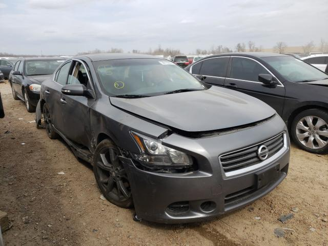 Salvage cars for sale from Copart Bridgeton, MO: 2014 Nissan Maxima S