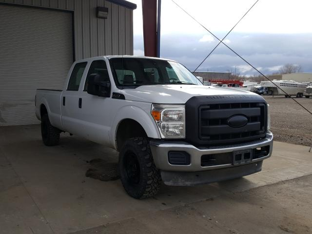 Salvage cars for sale from Copart Billings, MT: 2011 Ford F250 Super