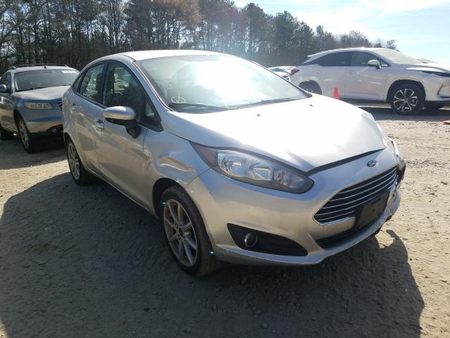 Salvage cars for sale from Copart Austell, GA: 2019 Ford Fiesta SE