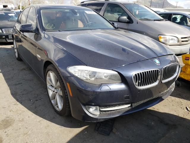 Salvage cars for sale from Copart Colton, CA: 2011 BMW 535 I