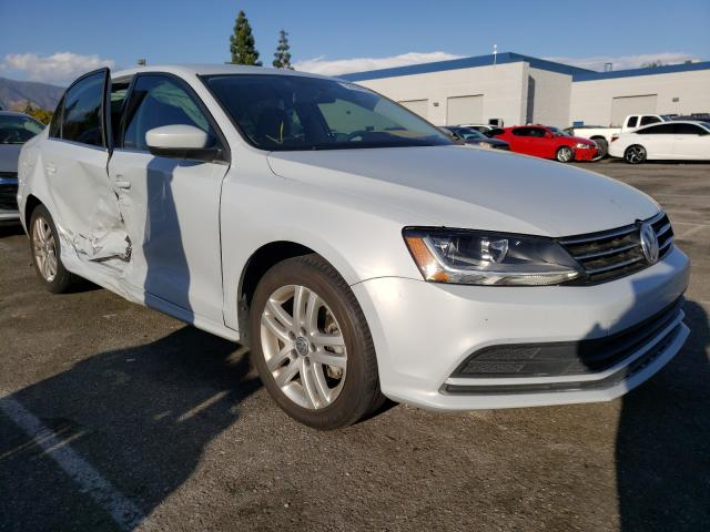 Salvage cars for sale from Copart Rancho Cucamonga, CA: 2017 Volkswagen Jetta S