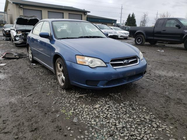 Salvage cars for sale from Copart Eugene, OR: 2007 Subaru Legacy 2.5