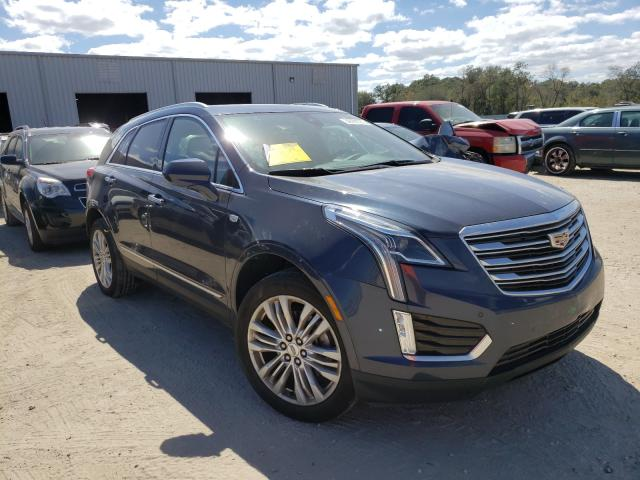 Salvage cars for sale from Copart Jacksonville, FL: 2018 Cadillac XT5 Premium
